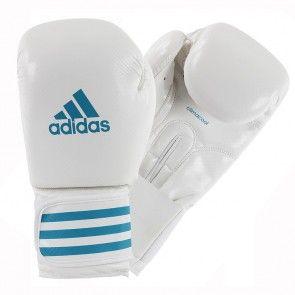 adidas Female Power 200 (kick)Bokshandschoenen Wit/Blauw