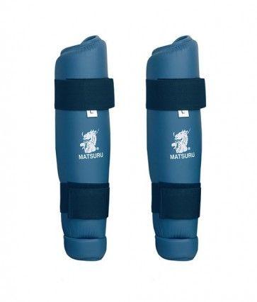 Matsuru 04240 Shinguard Scheenbeschermer blauw