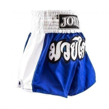 Joya Junior Kickboksbroek Blauw+Wit (Div. maten)