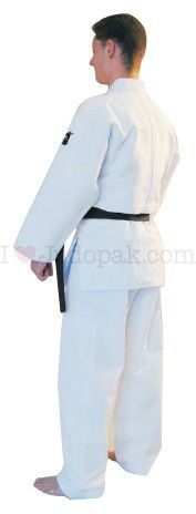 Matsuru judopak IJF Mondial Wit Getailleerd