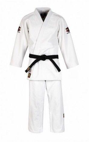 Matsuru 0062 judopak IJF Mondial Wit Getailleerd