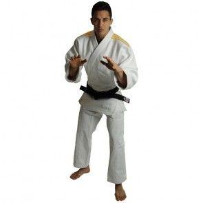adidas Judopak J690 Quest Wit/Oranje ADIJ690R