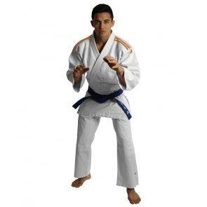 adidas Judopak J350 Club Wit/Oranje ADIJ350WO