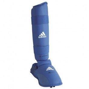 adidas WKF Scheenbeschermer Met Verwijderbare Voet Blauw ADI661-35B