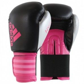 adidas Hybrid 100 Dynamic Fit (Kick)Bokshandschoenen Zwart/Roze