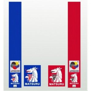 Matsuru karateband Satijn WKF 0229
