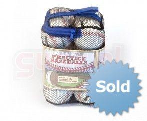 Franklin Honkbal ballen training vinyl netje van 12 stuks