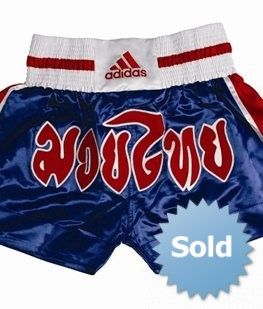 "Thai Boxing Short ""Blue/Red"""